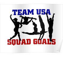 USA Gymnastics 2016 Rio: SQUAD GOALS Poster