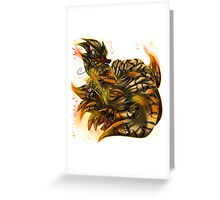 Arcatails +Fury Inferno+ Greeting Card