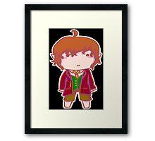 Bilbo Baggins Chibi Framed Print