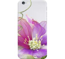 Pink and Purple Flower iPhone Case/Skin