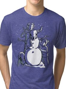 Snow Day Tri-blend T-Shirt