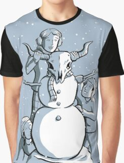 Snow Day Graphic T-Shirt