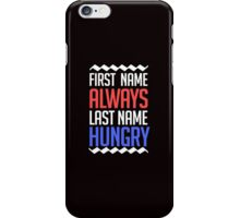 funny brain teasing saying and quote iPhone Case/Skin