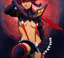 Kill La Kill: Ryuko Matoi/ Kamui Senketsu by Amber Debelak
