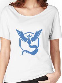 Pokemon Go! - Team Mystic emblem Women's Relaxed Fit T-Shirt