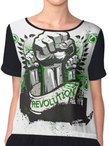 REVOLUTION-XBOX-MULTI Chiffon Top