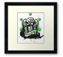 REVOLUTION-XBOX-MULTI Framed Print