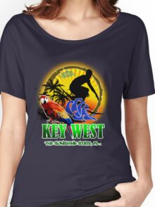 Key West Surf Paradise Women's Relaxed Fit T-Shirt