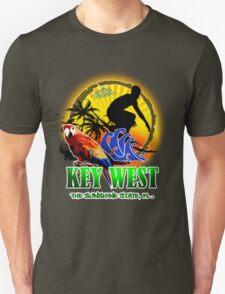 Key West Surf Paradise Unisex T-Shirt
