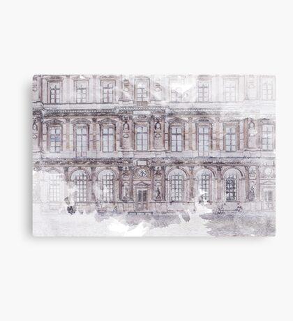 Paris Architecture Print Canvas Print