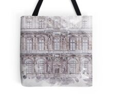 Paris Architecture Print Tote Bag