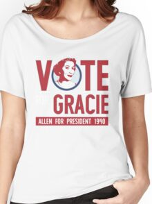 Gracie Allen for President Women's Relaxed Fit T-Shirt
