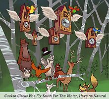 Cuckoo Clocks Flying South 4 The Winter by Rick  London