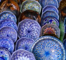 Tunisian Pottery Sticker