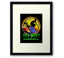 Summer In Key West Framed Print