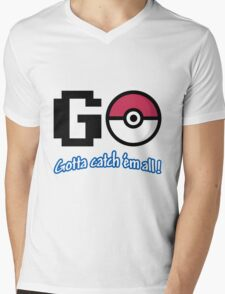 GO! Mens V-Neck T-Shirt