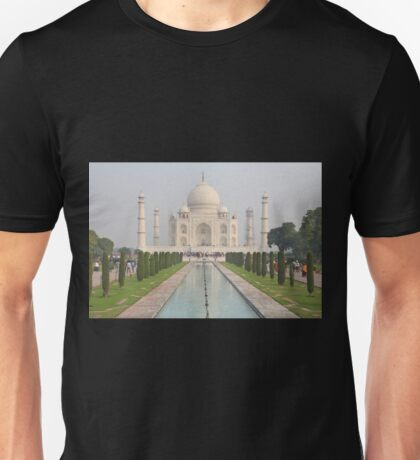 The Taj Mahal, Agra Unisex T-Shirt