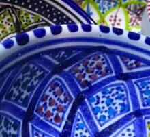 Tunisia Pottery Dishes Sticker
