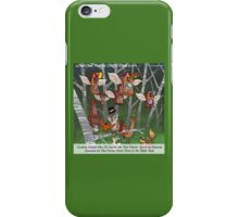Cuckoo Clocks Flying South 4 The Winter iPhone Case/Skin