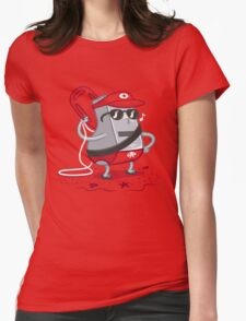 Whistle While You Work Womens Fitted T-Shirt