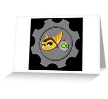 Ratchet and Clank Greeting Card