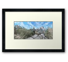 Desert Mountain Framed Print