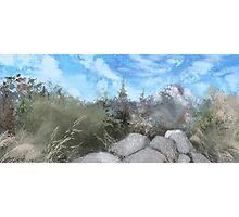 Desert Mountain Photographic Print