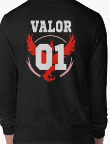 TEAM VALOR - Jersey Long Sleeve T-Shirt