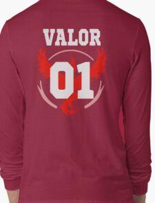 TEAM VALOR - Jersey Long Sleeve T-Shirt
