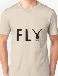 Funny Fly Graphic Design Unisex T-Shirt