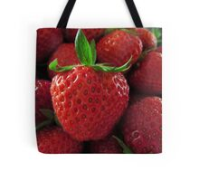 Sweet Strawberries Tote Bag