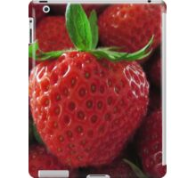 Sweet Strawberries iPad Case/Skin