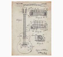 Gibson Les Paul Guitar US Patent Art 1955 T-Shirt
