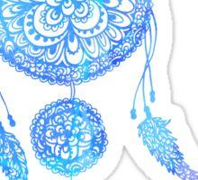 Blue Dreamcatcher Sticker
