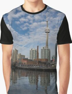 Reflecting on Toronto and Harbourfront Graphic T-Shirt