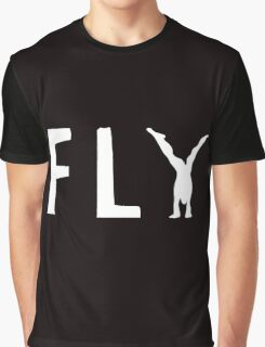 funny fly, girl upside down Graphic T-Shirt