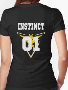 TEAM INSTINCT - Jersey Womens Fitted T-Shirt
