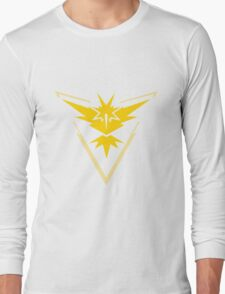Team Instinct - Pokemon Go Team Merch Long Sleeve T-Shirt