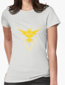 Team Instinct - Pokemon Go Team Merch Womens Fitted T-Shirt