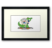 Chabad UF logo  Framed Print