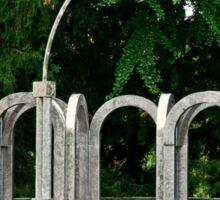 Botanical Gardens Arch Sticker