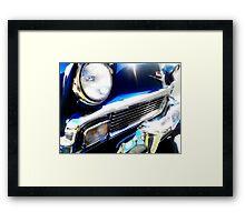 Rockabilly Blue Framed Print