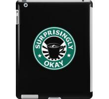 Sherlock's Coffee (Surprisingly Okay) iPad Case/Skin