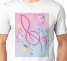Listen in to the Sweet Jams  Unisex T-Shirt