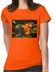 Spotlight on Spring Primula Blooms Womens Fitted T-Shirt