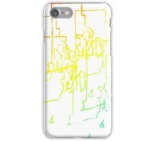 rhode island chill blur iPhone Case/Skin