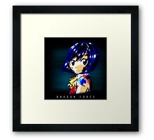 Fairy Tail - Wendy - Dragon Force Framed Print