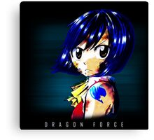 Fairy Tail - Wendy - Dragon Force Canvas Print