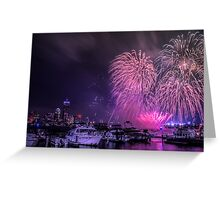 Boston strong as ever Greeting Card