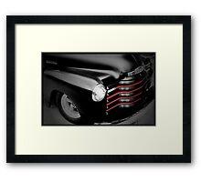 Rockabilly Black Framed Print